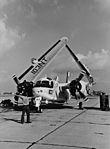 Grumman S-2E Tracker of VS-33 at NAS North Island in February 1970.jpg