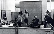Morricone nel 1975 con Gruppo di Improvvisazione Nuova Consonanza