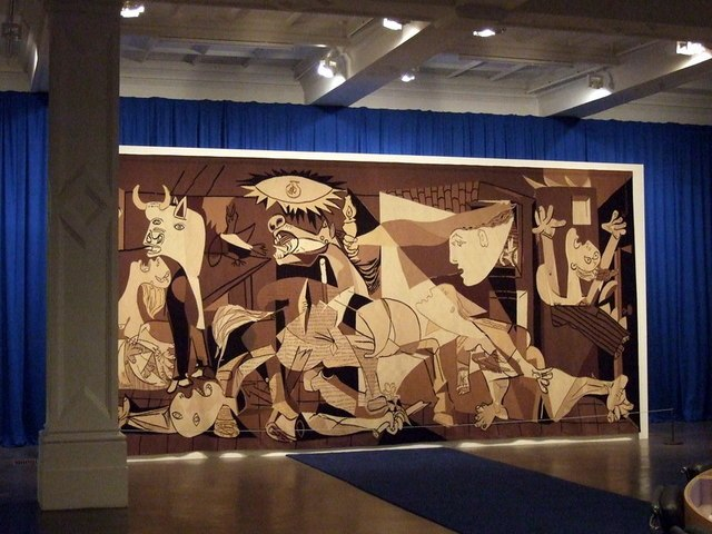 Guernica at the Whitechapel - geograph.org.uk - 1593698