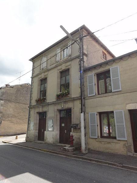 Guerpont (Meuse) mairie-école