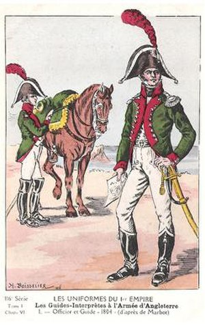 Military interpreter (France) - Interpreter for the Army of England, 1803