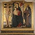 Guidoccio Cozzarelli, Madonna in trono col Bambino e i santi Sebastiano e Antonio abate.jpg