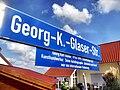 Guntersblum- Georg-K.-Glaser-Straße- Straßenschild 12.9.2009.JPG