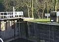 Gunthorpe Lock, bottom gates - geograph.org.uk - 652858.jpg