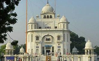 Guru Tegh Bahadur - Gurdwara Rakab Ganj Sahib, Delhi