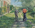 Gustave Caillebotte, 1881 - Chemin montant.jpg