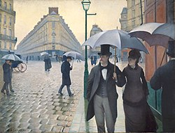 Gustave Caillebotte: Paris Street; Rainy Day