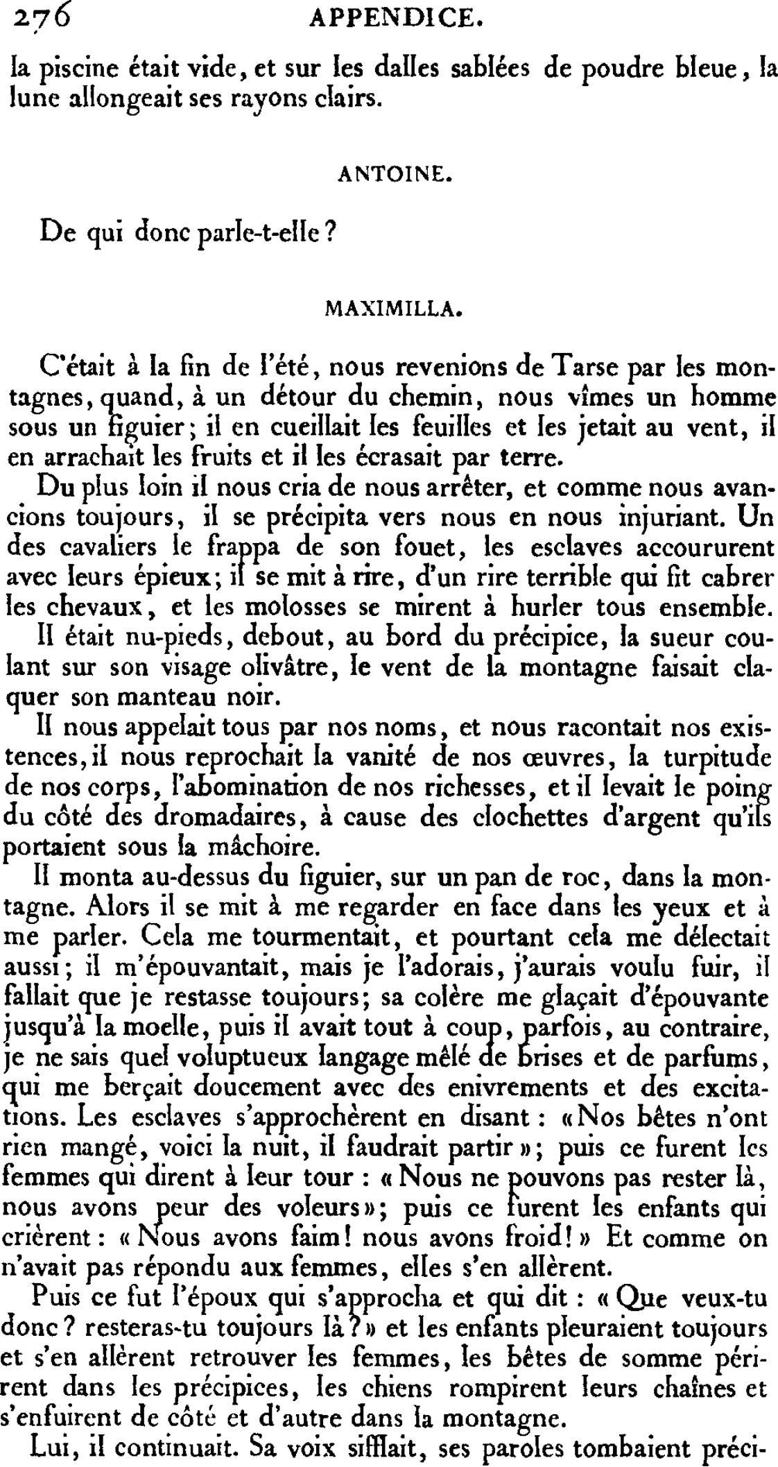 Page Gustave Flaubert La Tentation De Saint Antoine Djvu 276