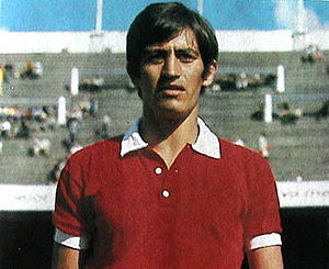 Héctor Yazalde - Yazalde as an Independiente player