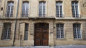 Hôtel Boyer de Fonscolombe - Image: Hôtel Boyer de Fonscolombe