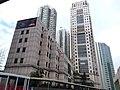 HK 荃灣公共圖書館 Tsuen Wan Public Library 西樓角路 Sai Lau Kok Road 荃灣政府合署 Tsuen Wan Government Offices facades December 2018 SSG.jpg