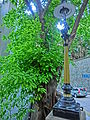 HK Central Duddell Street 樂成行 Baskerville House 雪廠街 Ice House Street gas lamp n Banyan tree April 2013.JPG