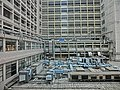 HK King's Park 伊利沙伯醫院 Queen Elizabeth Hospital view outside roof fixture Jan-2014.JPG