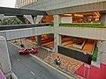 HK Wan Chai North Causeway Centre podium platform footbridge view 新鴻基中心 Sun Hung Kai Centre carpark exit Harbour Drive Mar-2013.JPG