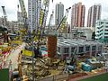 HK YL 元朗 Yuen Long 朗屏站 Long Ping MTR Station view construction site April 2016.JPG