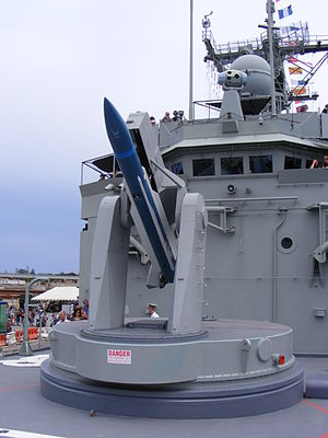 Mark 13 missile launcher