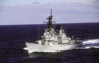 HMAS Brisbane (D 41) - Image: HMAS Brisbane