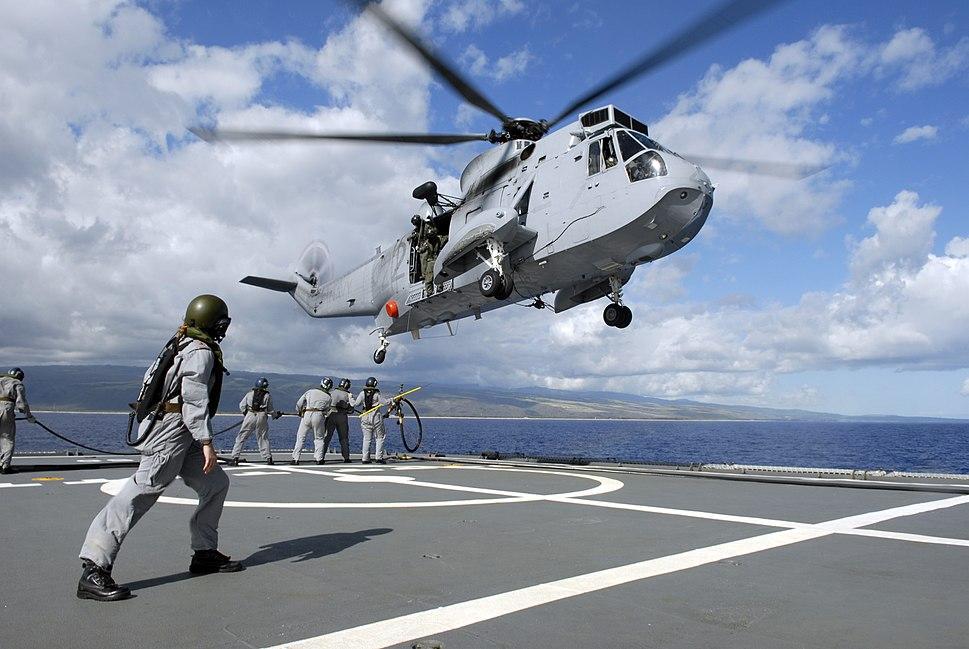 HMAS Tobruk Sea King 2008