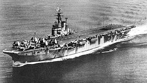 HMCS Magnificent (CVL 21) - Image: HMCS Magnificent (CVL 21) underway c 1950