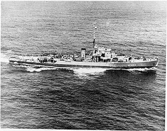 Colony-class frigate - Image: HMS Dominica (K507) IWM A 25639