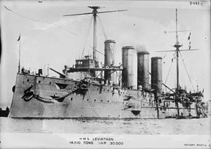 Drake-class cruiser - HMS Leviathan