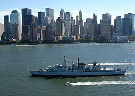 Hr.Ms. Jacob van Heemskerck in New York