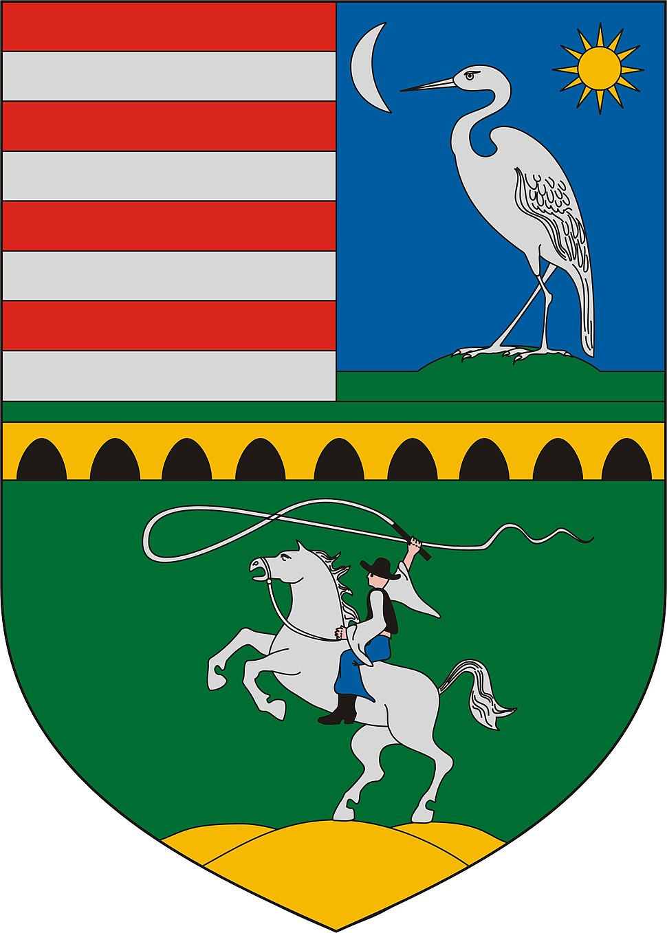 Coat of arms of Hortobágy
