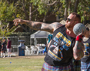 Hafþór Júlíus Björnsson - At the 2015 Caledonian Club Highland Games