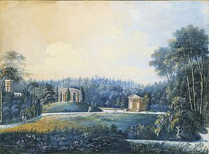 1805 in Sweden - Hagaparken 1805