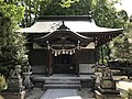 Haiden of Shomon Shrine in Shoin Shrine.jpg