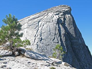 Exfoliating granite Granite skin peeling like an onion (desquamation) because of weathering