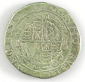 Halfcrown of Charles I - Counterfeit (YORYM-1995.109.39) reverse.jpg