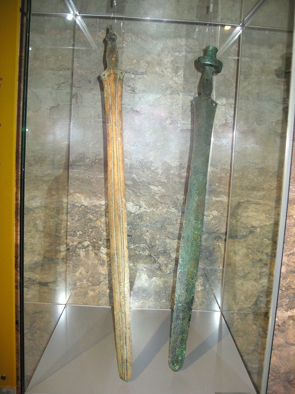 Hallstatt 'C' Swords in Wels Museum, Upper Austria