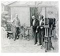 Halmi A király Koller műtermében 1898.jpg