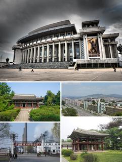 Hamhung Municipal City in Kwannam, North Korea