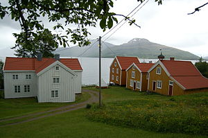 Ibestad - Image: Hamnvik