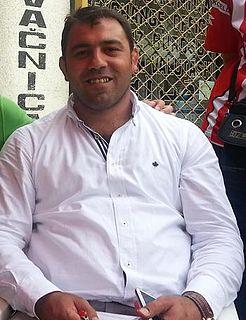 Hamza Yerlikaya Turkish Graeco-Roman style wrestler