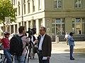 Hans-Jürg Fehr being interviewed, 2007.jpg