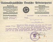 Hans Langmantl Drohschreiben JS