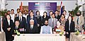 Hansraj Gangaram Ahir at the signing in ceremony of the MoU between India and Thailand, on Cooperation in Controlling Narcotic Drugs, Psychotropic Substances, their Precursors and Chemicals and Drug Abuse, in New Delhi (1).jpg