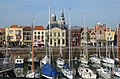 Harbour of Vlissingen with old city buildings at 31 October 2014 - panoramio.jpg