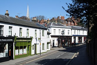 Harrow on the Hill - Image: Harrow on the Hill, High Street geograph.org.uk 1730292