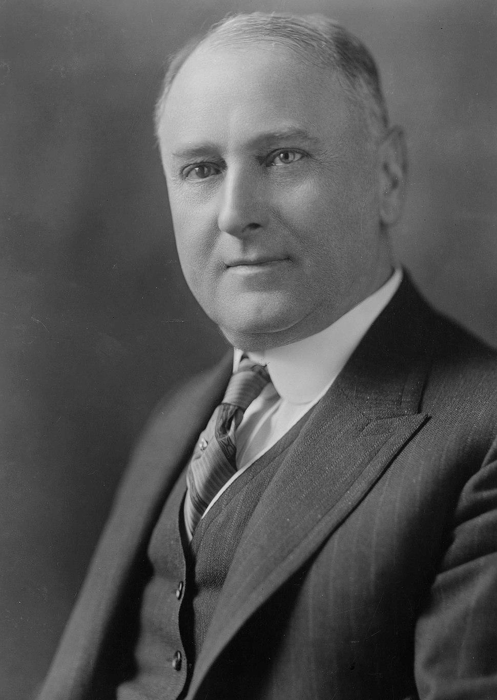 Harry Daugherty, bw photo portrait 1920