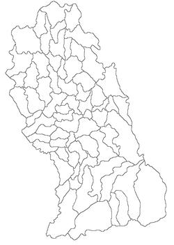 Harta jud Hunedoara