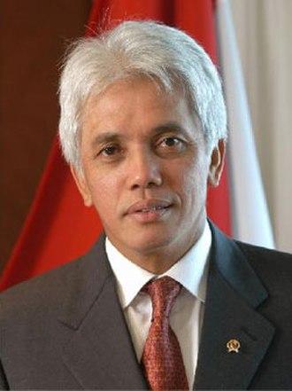 2014 Indonesian legislative election - Hatta Rajasa