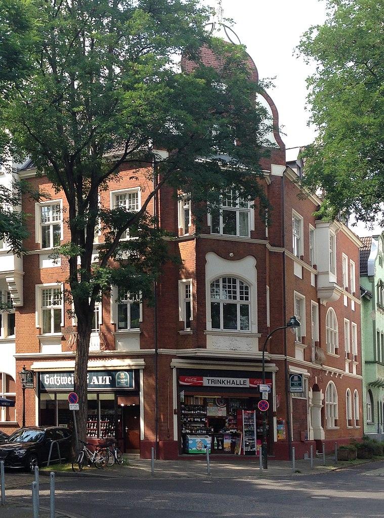 File haus cheruskerstra e 69 d sseldorf oberkassel - Haus 69 ...