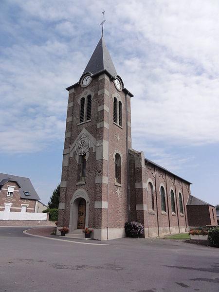 Hauteville (Aisne) église