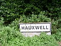 Hauxwell Sign - geograph.org.uk - 248471.jpg