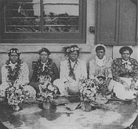 Hawaiian lei venders, Honolulu, c. 1890.jpg