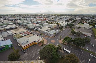 Hawera - Hawera from the Water Tower